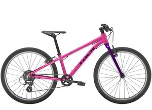 Trek Wahoo 24 24  wheel Flamingo Pink/Purple Lotus
